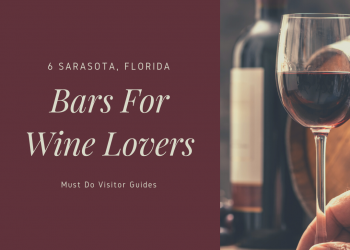 6 Sarasota, Florida Bars for Wine Lovers. Here's the skinny on the best bars to visit in Sarasota, Florida if you love wine. With a wide range of wine bar choices no matter what kind of vibe you want. Must Do Visitor Guides | MustDo.com