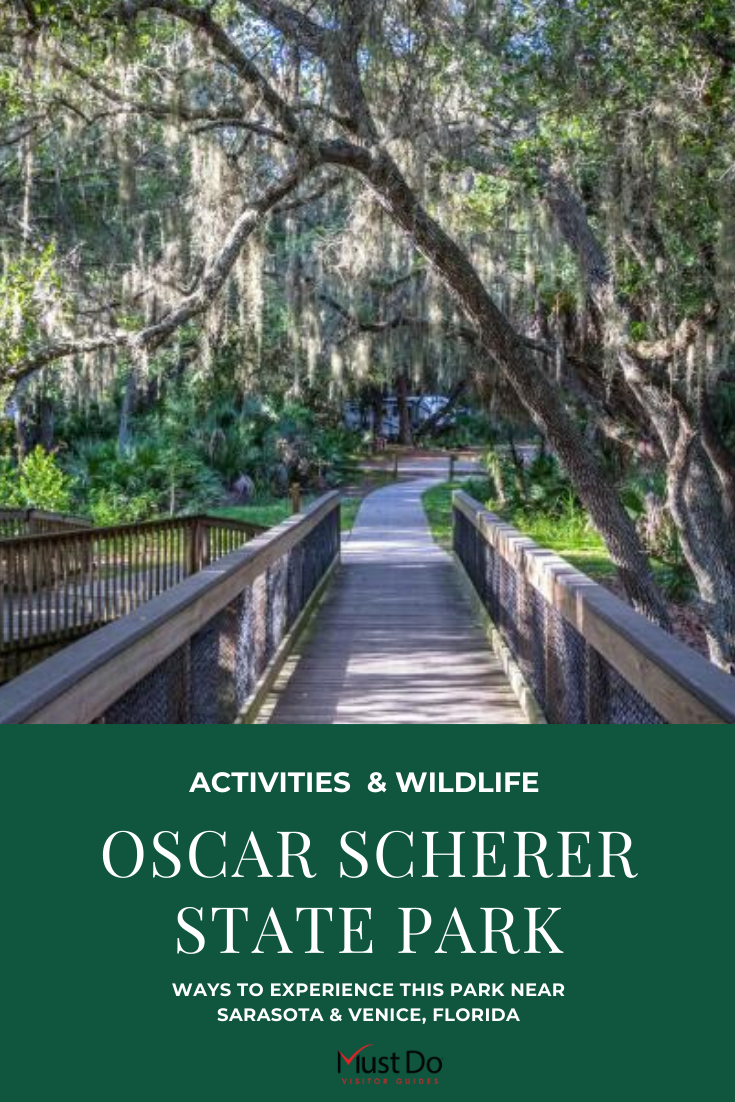 Oscar Scherer State Park Activities & Wildlife. Ways to Experience This Park Near Sarasota & Venice, Florida. Must Do Visitor Guides | MustDo.com