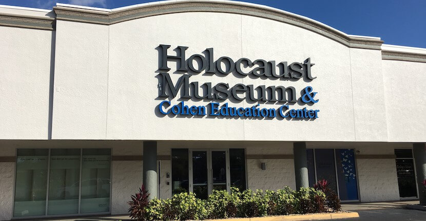 View meaningful exhibits of over 1,000 donated artifacts, documents, and original photographs from the Holocaust and World War II at the Holocaust Museum & Cohen Education Center in Naples, Florida USA. Must Do Visitor Guides | MustDo.com