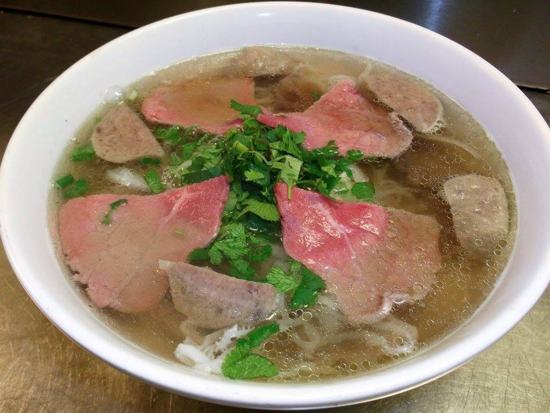 Cheap Eats Sarasota - Pho with beef from Pho 101 Noodle House in Sarasota, Florida. Must Do Visitor Guides | MustDo.com