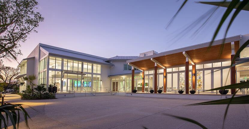 BIG ARTS cultural center, theater ,and museum Sanibel Island, Florida.