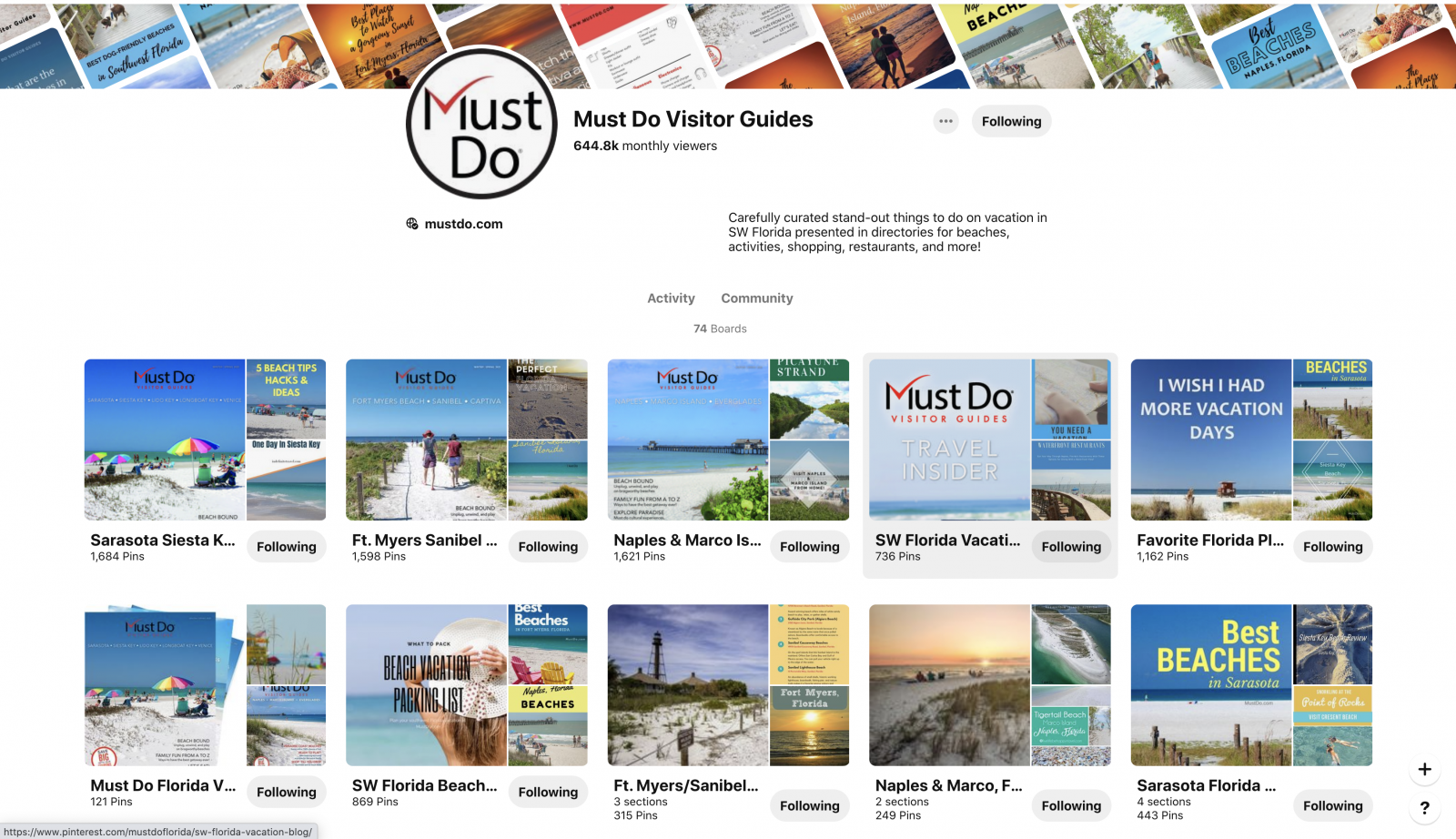 Must Do Visitor Guides Southwest Florida travel and vacation planning on Pinterest.