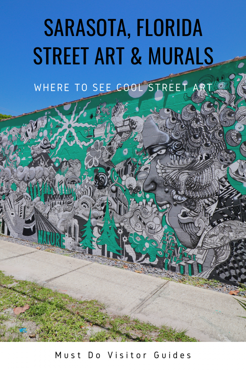 Where to see cool Sarasota, Florida Street Art and murals. Must Do Visitor Guides | MustDo.com