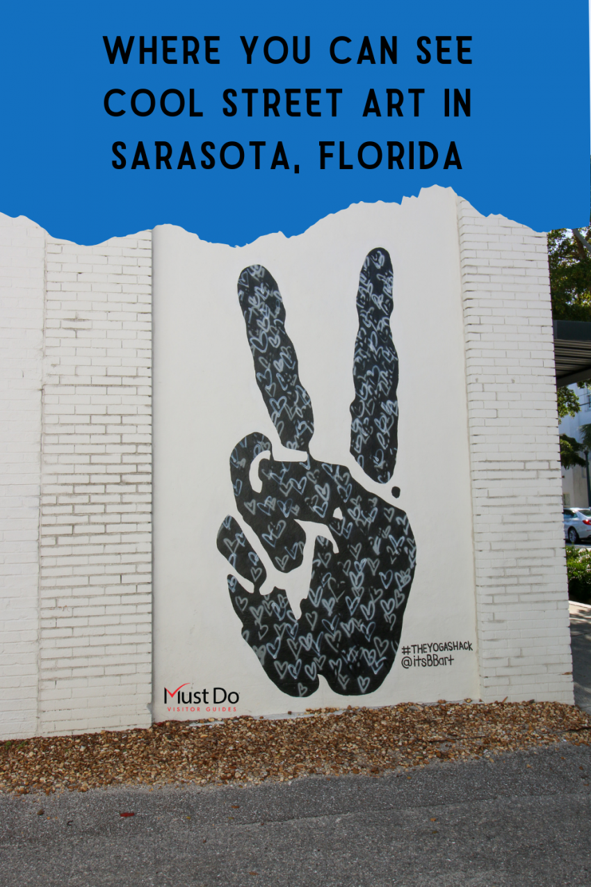 Where you can see cool Sarasota, Florida Street Art and murals. Must Do Visitor Guides | MustDo.com