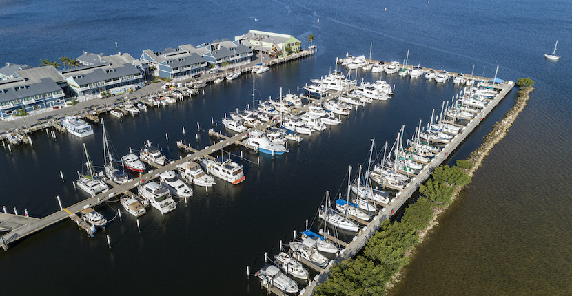 Fishermen's Village Resort, Shopping, Marina, boat docks, and Vacation Villa Rentals in Punt Gorda, Florida