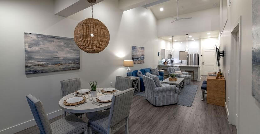 Fishermen's Village fully furnished, spacious, and comfortable resort accommodations in Punta Gorda, Florida offer breathtaking views of Charlotte Harbor.