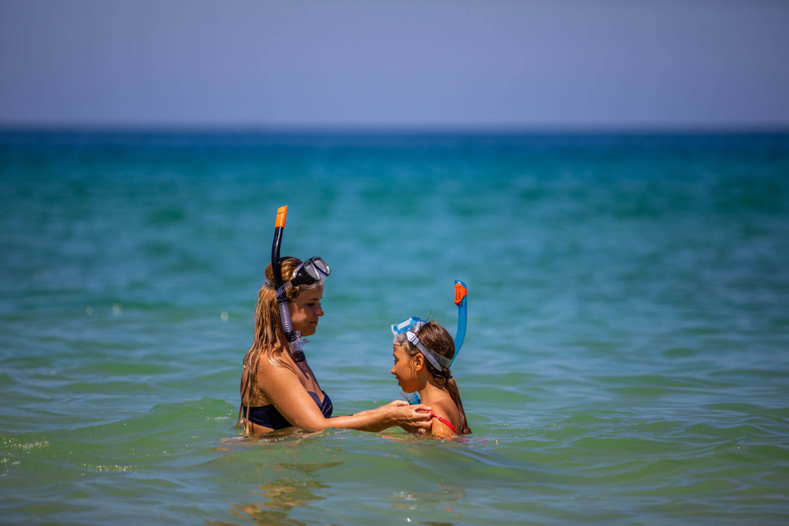Tps for snorkeling at Point of Rocks near Crescent Beach in Siesta Key, Florida.