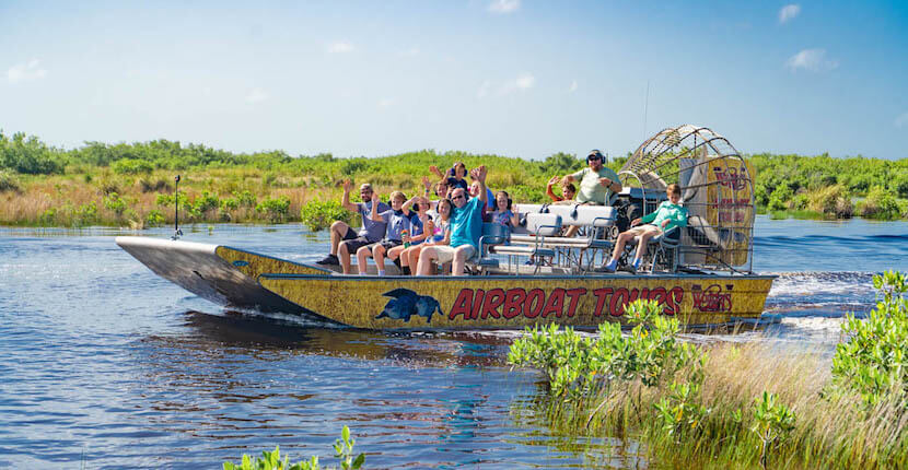 Wooten's Everglades Airboat Tours - Watch for alligators and other wildlife on a thrilling Everglades airboat tour or swamp buggy ride that is safe and fun for all ages. Must Do Visitor Guides
