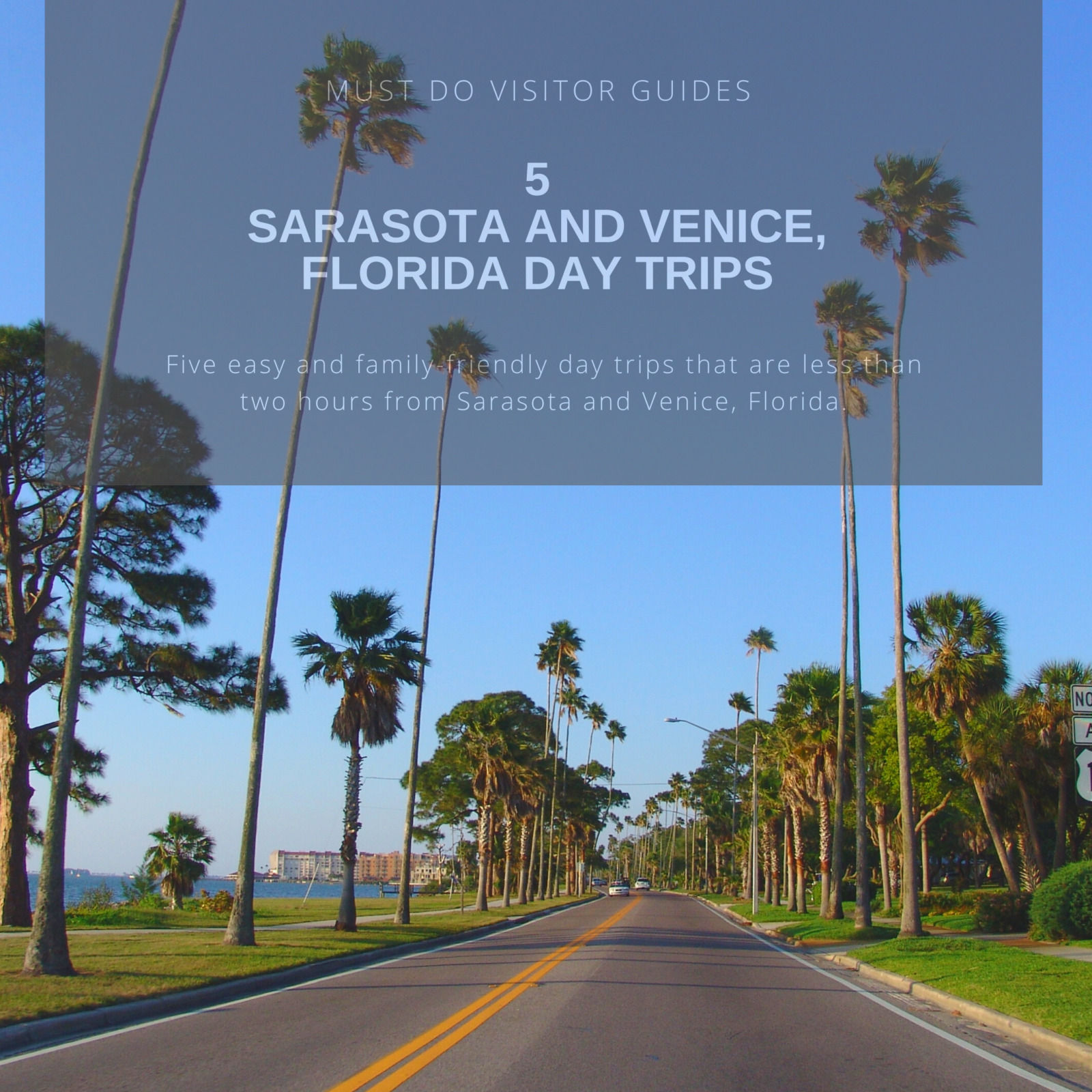 Five easy and family-friendly day trips that are less than two hours from Sarasota and Venice, Florida. Must Do Visitor Guides | MustDo.com