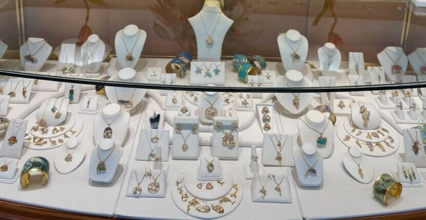 Cedar Chest Fine Jewelry store in Sanibel, Florida features an exclusive selection of original island style and nature-themed jewelry.