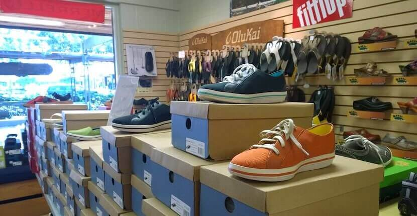 Comfort Shoes in Siesta Key is a family-owned footwear store with sandals, clogs, and more from brands including Birkenstock, Merrell, NAOT, Teva, OluKai, Ecco and more.