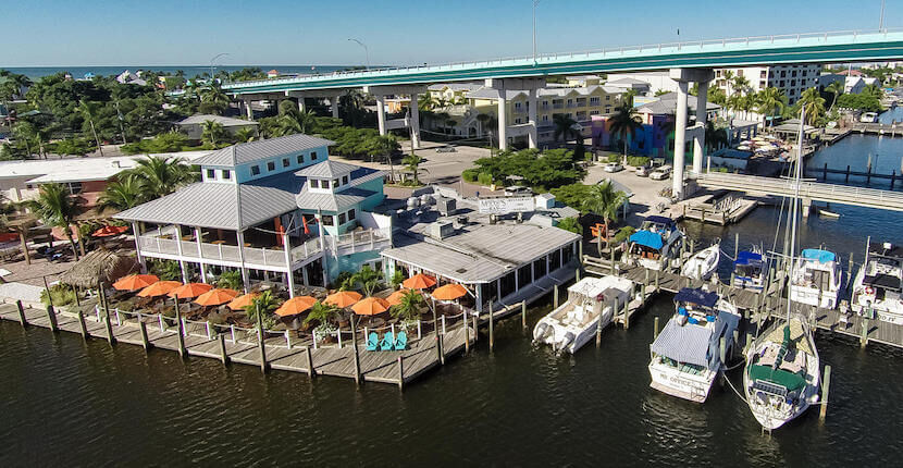 Matanzas on the Bay waterfront restaurant in Fort Myers Beach, Florida offers a wide array of mouthwatering fresh seafood, steaks, burgers, salads, chowders, and more.