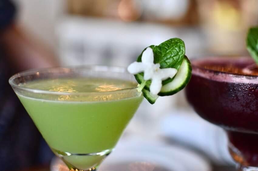 Craft cocktails at Baker & Wife restaurant Sarasota, Florida. Photo credit Andrew Fabian.