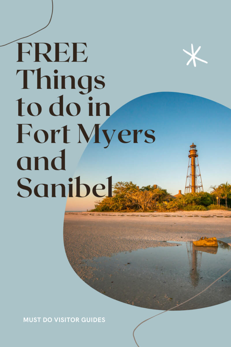 Free Things to do in Florida: Fort Myers and Sanibel. A list of free things to do in Fort Myers and Sanibel for a budget-friendly vacation.  Must Do Visitor Guides