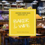 Inspired dining near Siesta Key at Baker & Wife restaurant in Sarasota, Florida. Must Do Visitor Guides