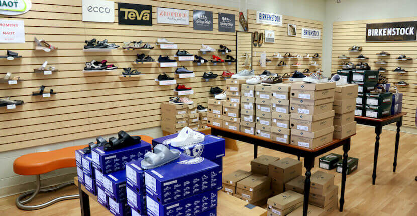 Comfort Shoes in Siesta Key offers a wide array of sandals, and flip flops brands include Birkenstock, Merrell, T, Teeva, OluKai, Oofos and more. Must Do Visitor Guides | MustDo.com.