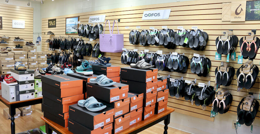 Comfort Shoes in Siesta Key offers a wide array of sandals, and flip flops brands include Birkenstock, Merrell, T, Teeva, OluKai, Oofos and more. Must Do Visitor Guides | MustDo.com