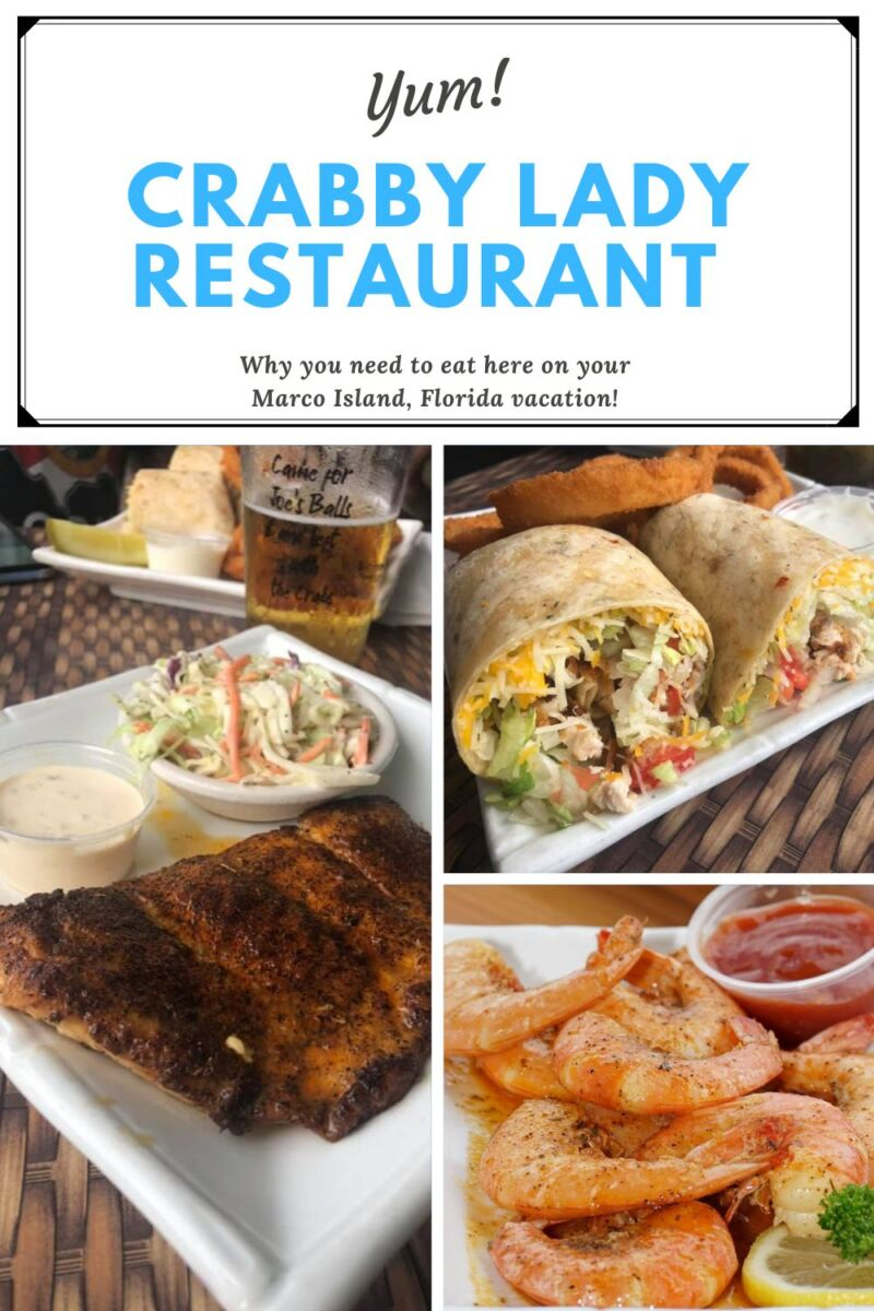 Yum! Crabby Lady Restaurant Why you need to eat here on your Marco Island vacation!