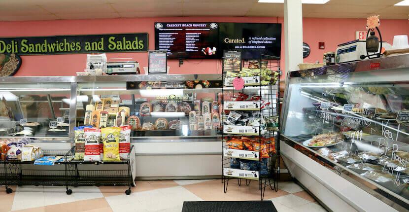 Deli at Crescent Beach Grocery in Siesta Key, Florida