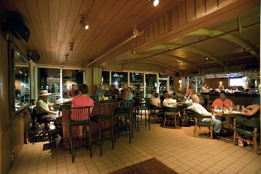 Deep Six Lounge and Piano Bar at Marina Jack in Sarasota.