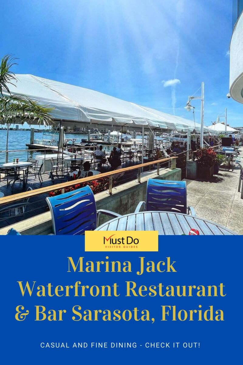 Marina Jack waterfront restaurant & bar in Sarasota, Florida. Casual and Fine Dining. Check it Out!